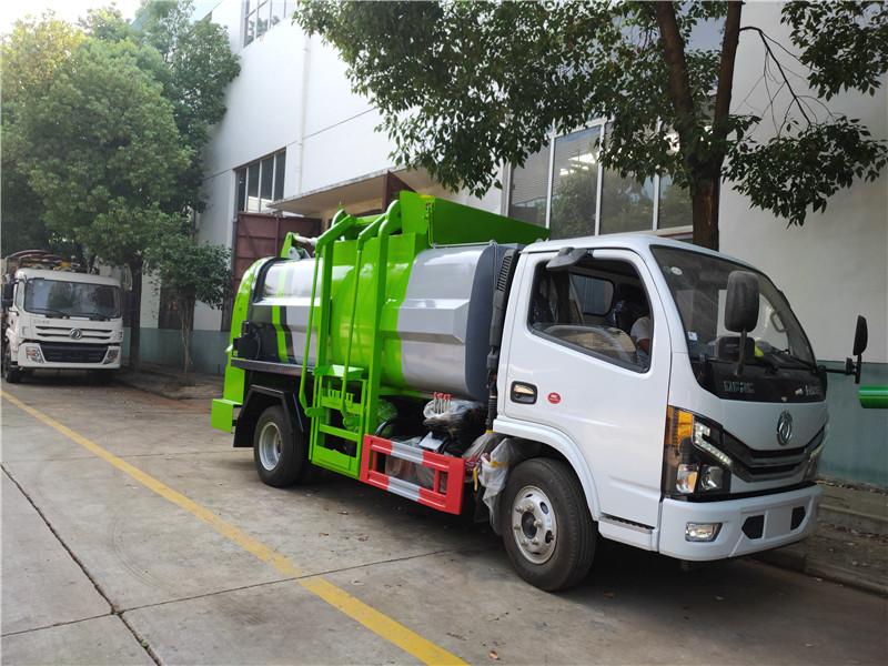 国六东风多利卡D6系列5方餐厨垃圾车