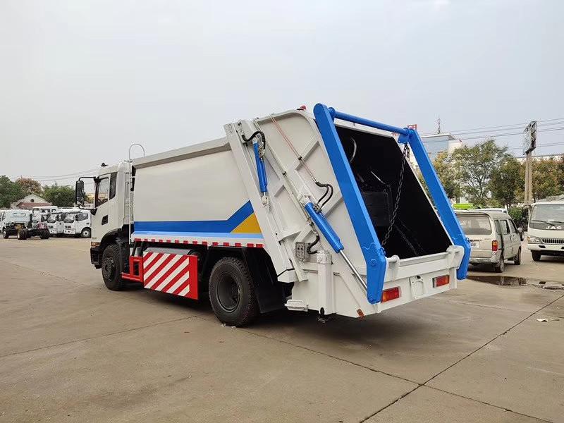 东风天锦国六天燃气压缩垃圾车