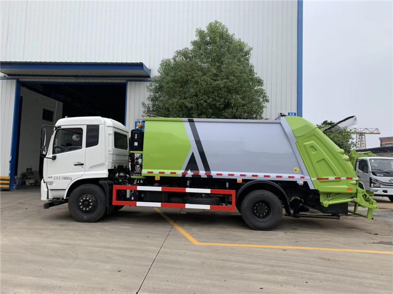 天锦智能压缩垃圾车,一款可以自动诊断故障的压缩垃圾车